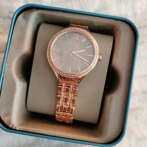 FOSSIL Womens Rose Gold Tone Watch NWT